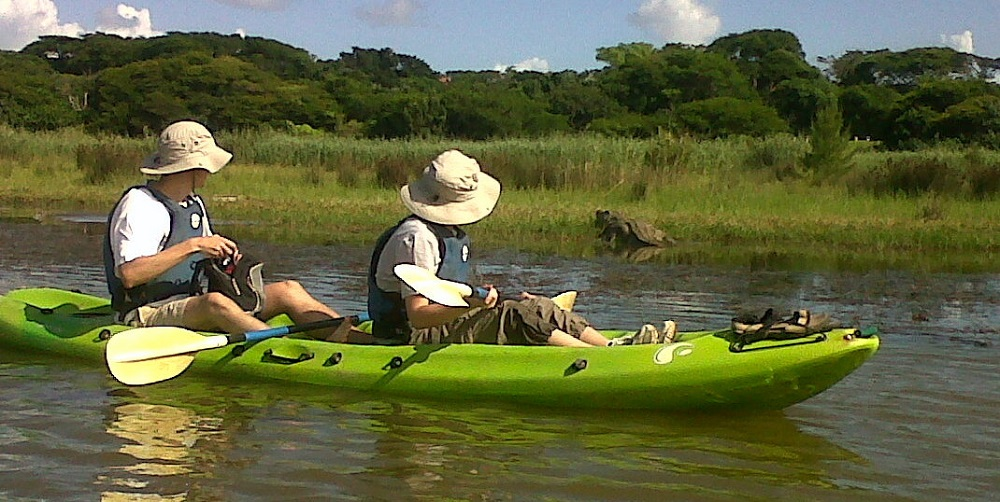 Kayak safari_iSimangaliso Wetlands
