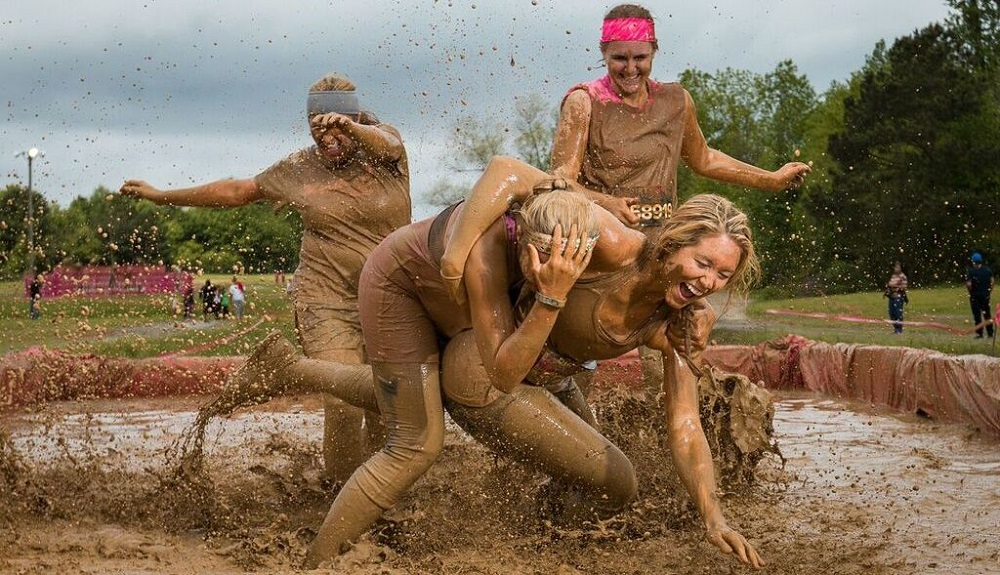 Mud Ran Fun Moments