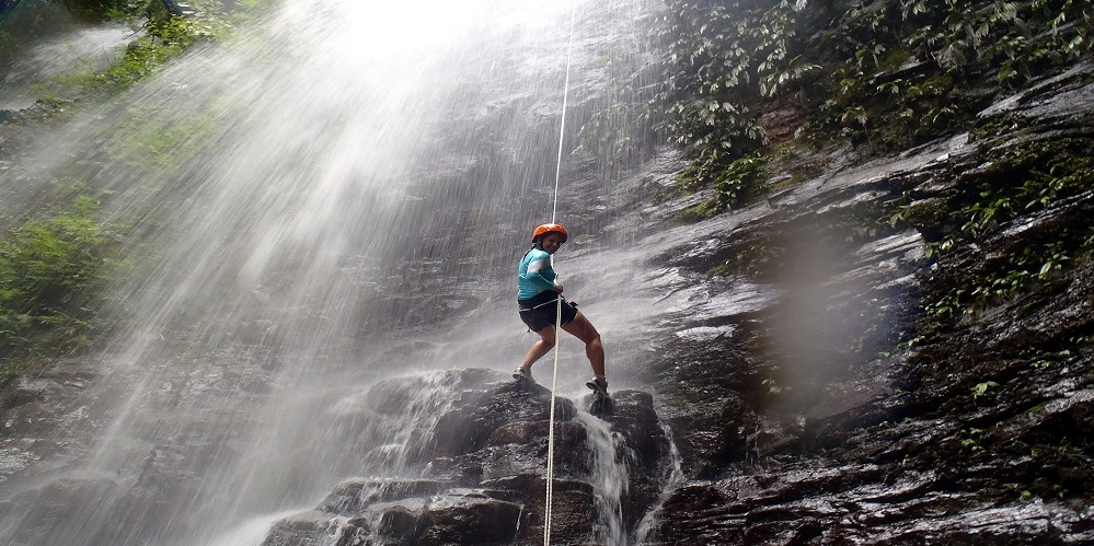 Waterfall Rapelling-Maharashtra