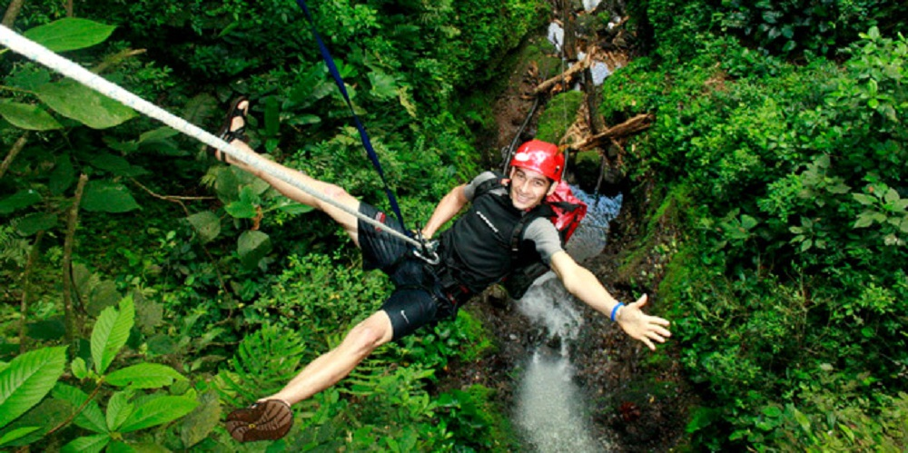Waterfall Rappelling Adventure