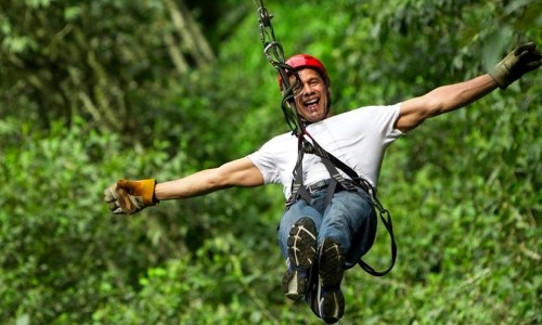 Ziplining Adventure In India