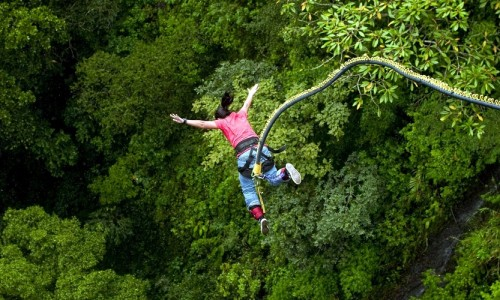 Bungee Jumping Activities in India